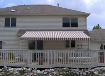 deck awning installation service