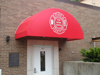 awning installed in Fox River Grove