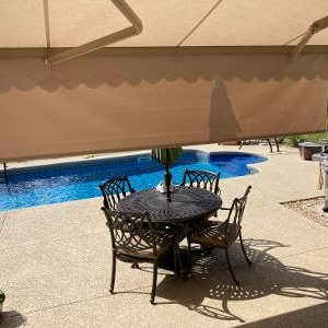 Retractable deck awning installation hawthorn woods