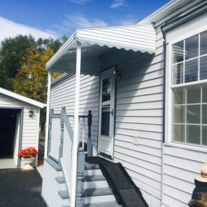 aluminum awning installation hampshire