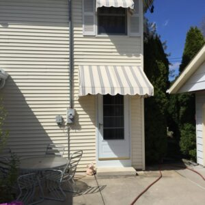 residential window awning installation