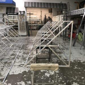 canopy frame construction