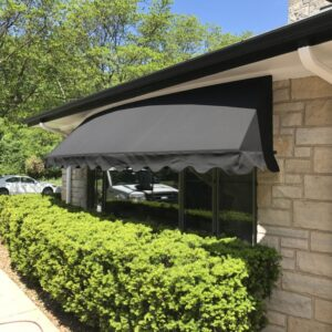 window awning des plaines