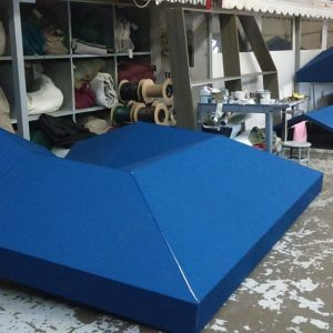 commercial canopy construction