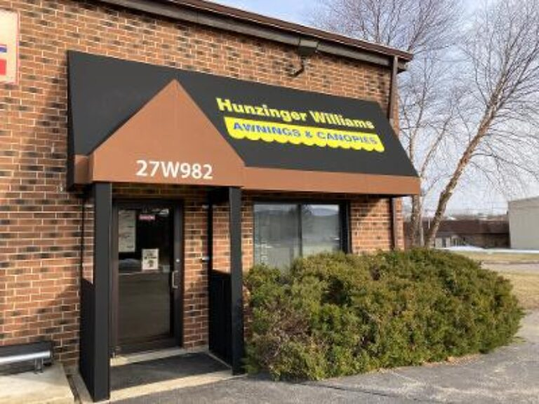 Hunzinger Williams shop enterance